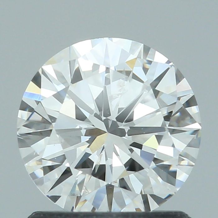 1 pcs Diamant - 1.01 ct - Rond - F - SI2, GIA - VG/EX/VG - Low Reserve Price