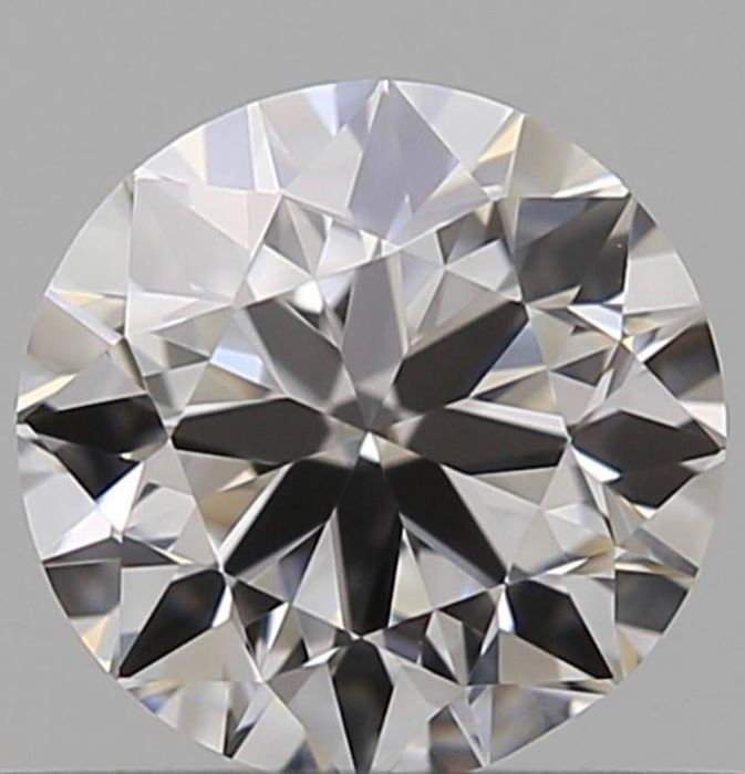 Diamond - 0.50 ct - Brilliant - E - IF (flawless), LC (loupe clean)
