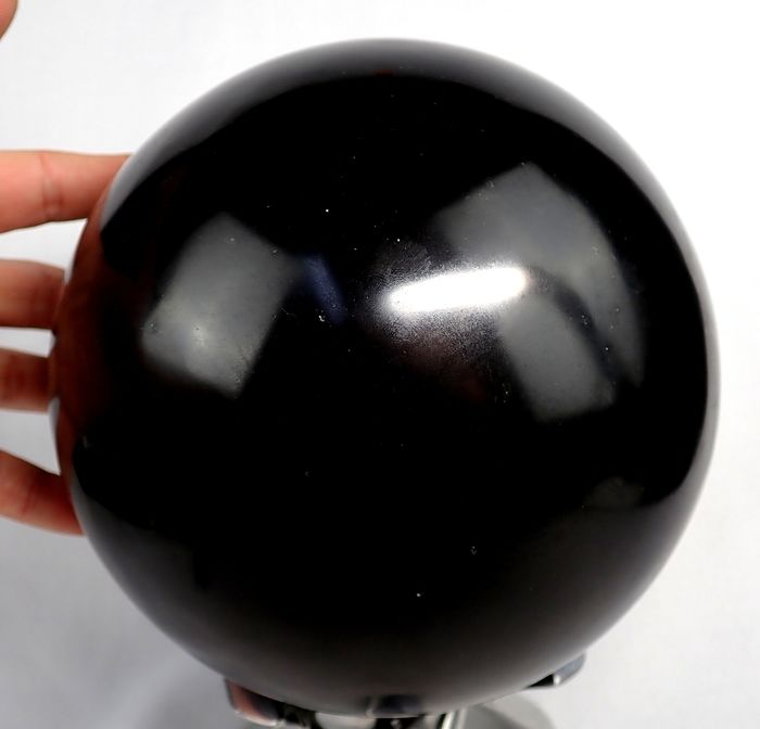 Large First Quality Black Tourmaline  Sphere  - 180×180×180 mm - 8185 g