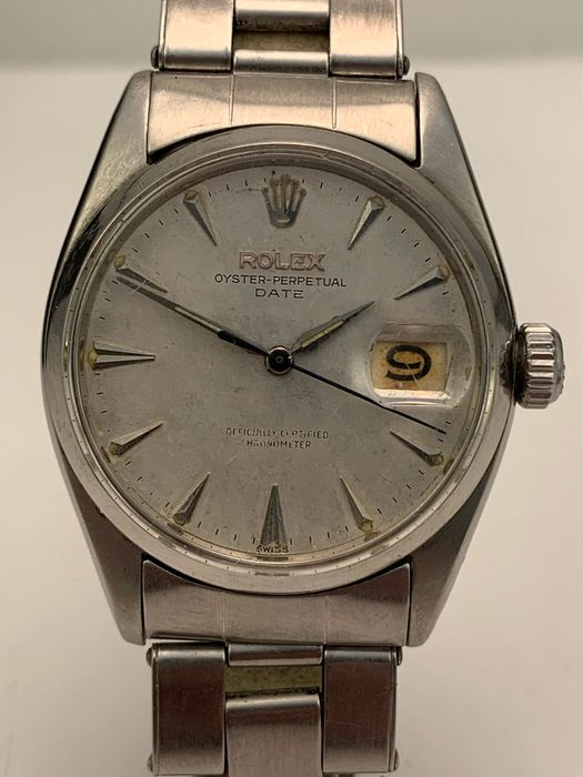 Rolex - Oyster Perpetual Date - Homme - 1950-1959