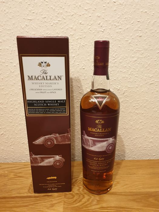 Macallan Whisky Maker's Edition 1940s Roadster - Original bottling - 700ml