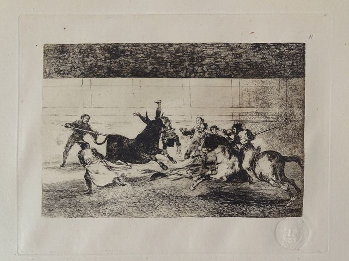 Francisco de Goya (1746 - 1828) - Bullfighting