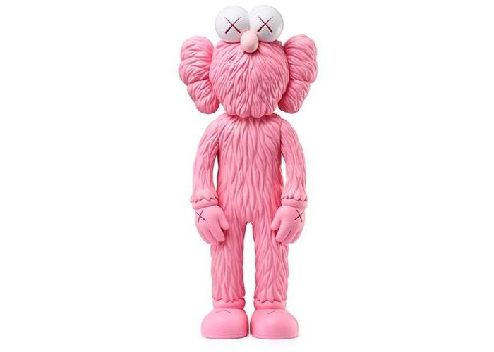 KAWS - BFF Open Edition Pink