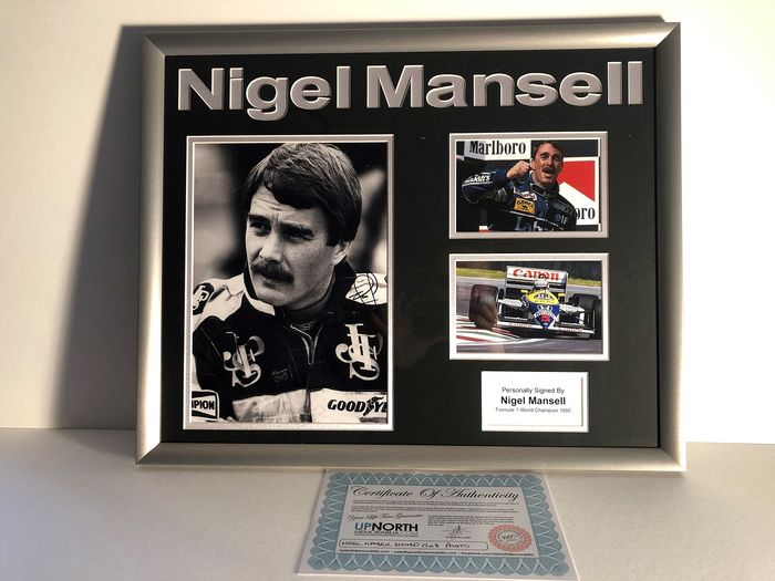 Williams  - Formula One - Nigel Mansell - Photograph