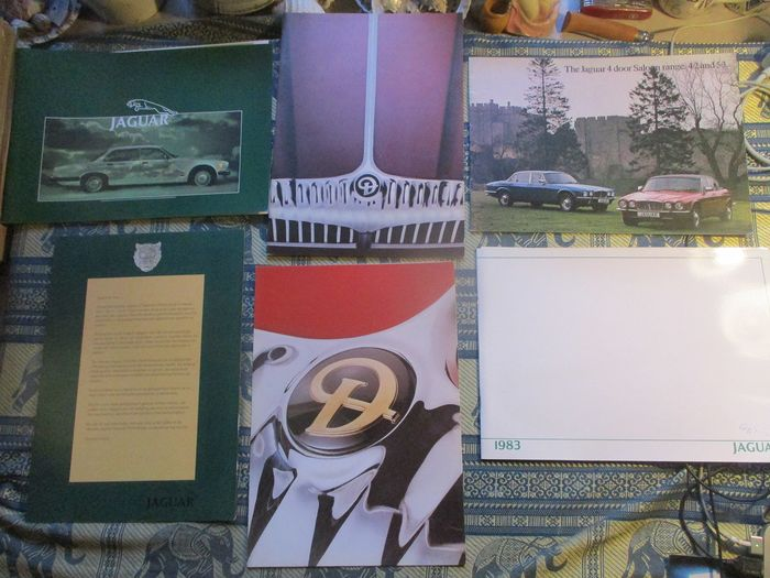 Brochures / Catalogi - and Daimler (1978-1984) - Jaguar