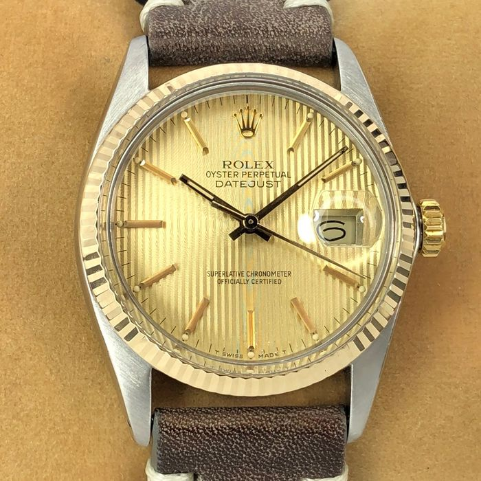 Rolex - Datejust Tapestry Dial - 16013 - Men - 1980-1989