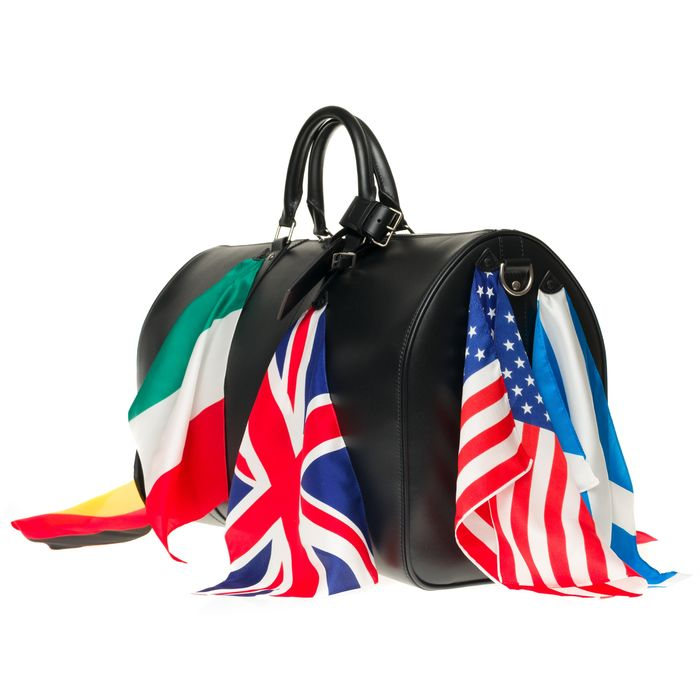 Louis Vuitton - ULTRA EXCLUSIVE/BRAND NEW/Keepall 50 flagship by Virgil Abloh in black calf Sac de voyage