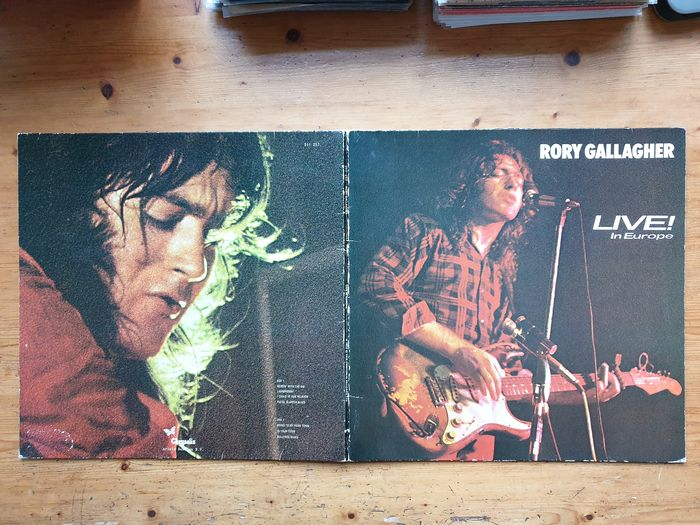 Jeff Beck Group, Rory Gallagher, Ten Years After - 5 Blues Rock albums from The Seventies - Différents titres - LP's - 1971/1982