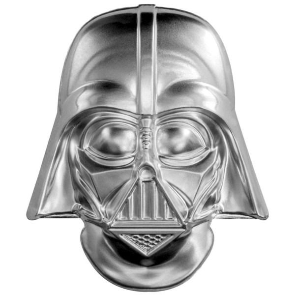 Niue - 5 Dollar 2019 Darth Vader Helmet Coin - 2 Oz - Silver