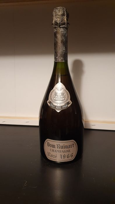 1966 Dom Ruinart Rose - Champagne Brut - 1 Bouteille (0,75 l)
