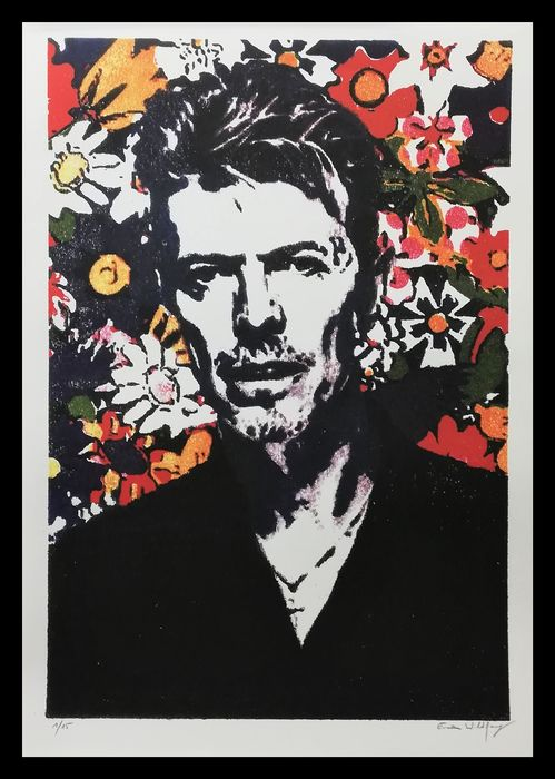 David Bowie - Large Format-by Emma Wildfang - Limitierte Auflage - 2019/2019