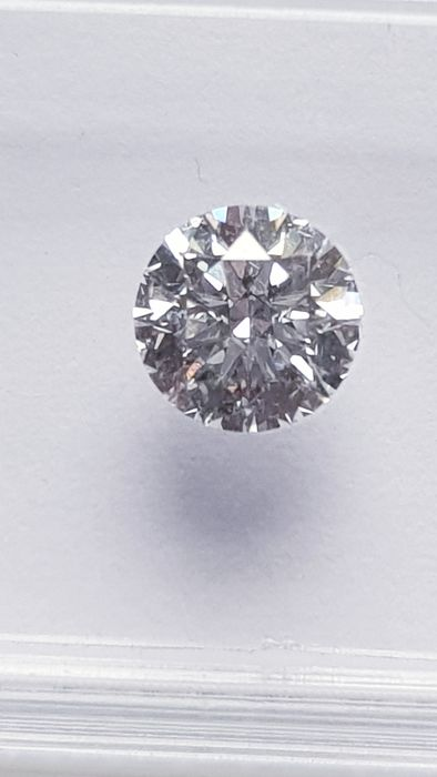 "1 pcs Diamond - 1.04 ct - Brilliant - E - I.F   ""IDEAL CUT ROUND BRILLIANT"""