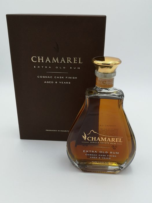 Chamarel 8 years old - Extra Old Rum - Cognac cask finish - 70cl