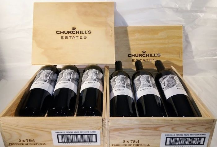 2016 Churchill's Estates - Douro - 9 Bottles (0.75L)