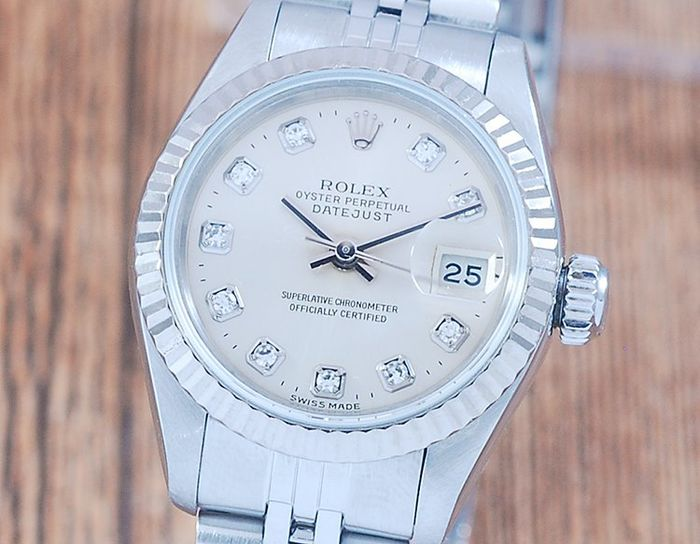 Rolex - Oyster Perpetual Datejust - 69174G - 女士 - 1990-1999