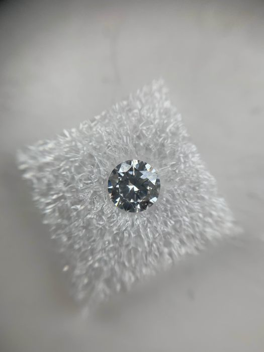 1 pcs Diamant - 0.41 ct - Brillant - F - SI2