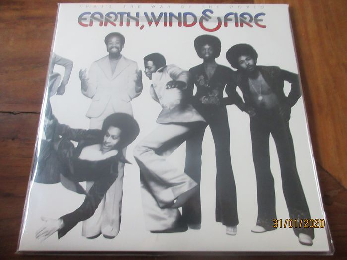 Earth, Wind & Fire - That's the way of the world - LP Album - 2013/2013