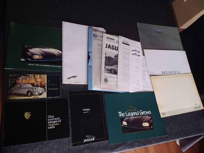 Brochures / Catalogues - Jaguar - 1970-1980