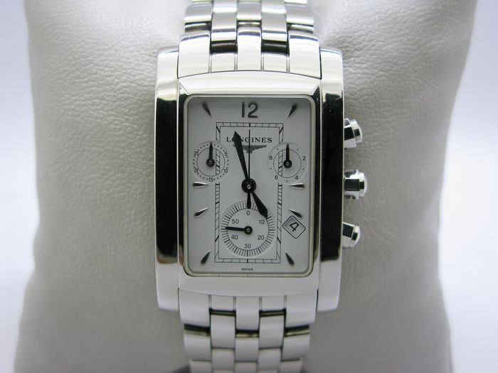 "Longines - Dolce Vita MENS Watch Steel white dial - L5656.4 - ""NO RESERVE PRICE"" - Heren - 2000-2010"