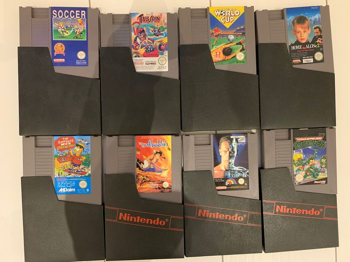 Nintendo Nes - Video games (8)