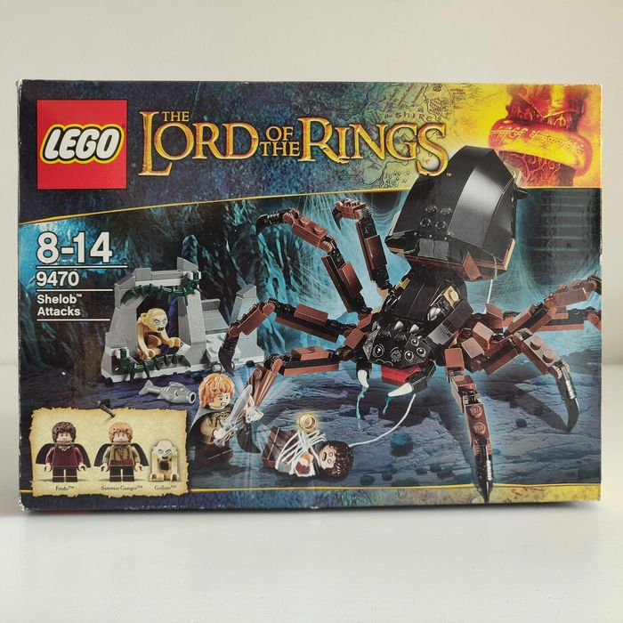 LEGO - Lord of the Rings - 9470  - Shelob Attacks