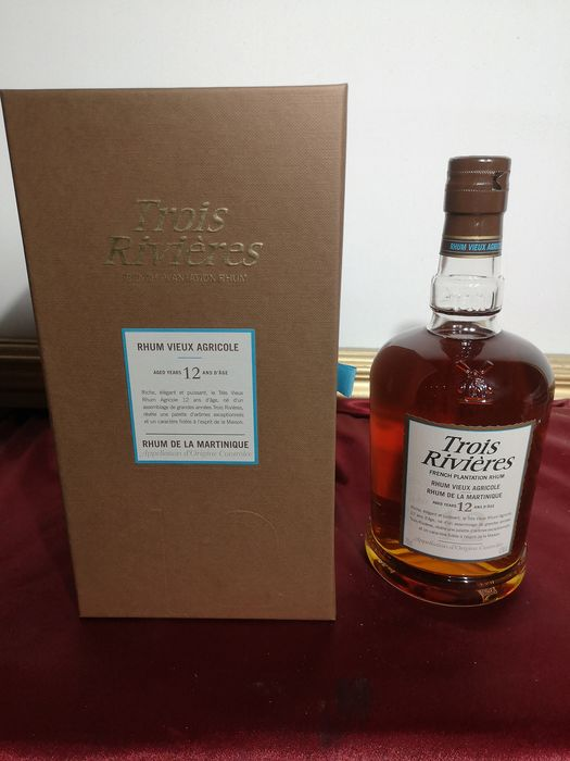 "Trois Rivières 12 years old - ""French Plantation Rhum"" - 70 cl"