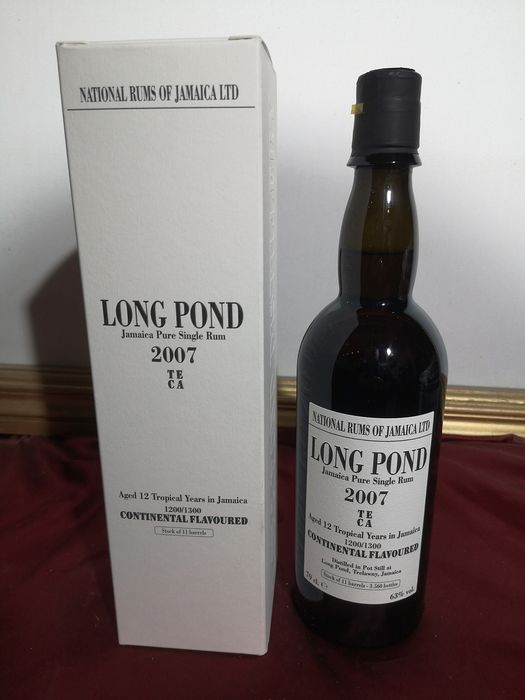 Long Pond 2007 12 years old - TECA - 70cl