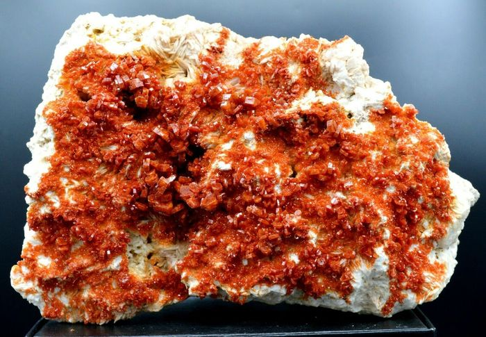 Vanadinite Crystals - 180×130×80 mm - 3326 g