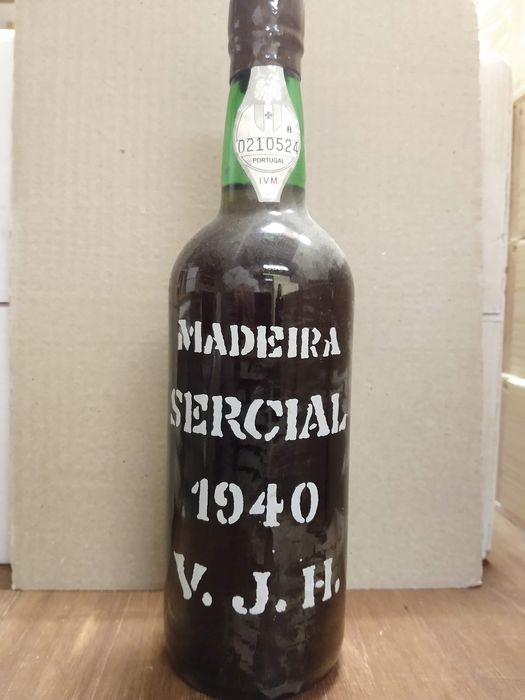 1940 Justino Henriques - Madeira Sercial - 1 Bottle (0.75L)