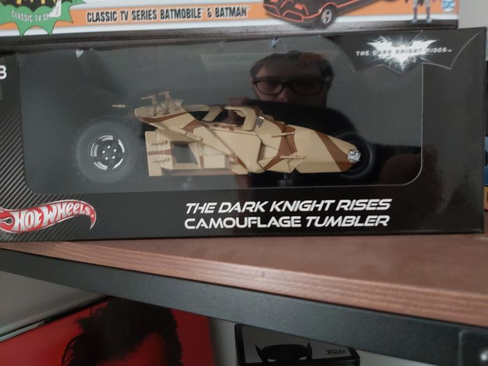 Hubley - 1:18 - The Dark Knight Riss Camouflage Tumbler