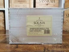 "2016 Antinori ""Solaia"" - 托斯卡纳 100 Parker Points - 6 Bottles (0.75L)"