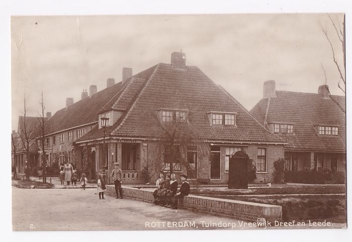 """Netherlands - Oud Rotterdam South - """"Vreewijk - Katendrecht - Feijenoord - - Postcards (Collection of 130) - 1900-1960"""