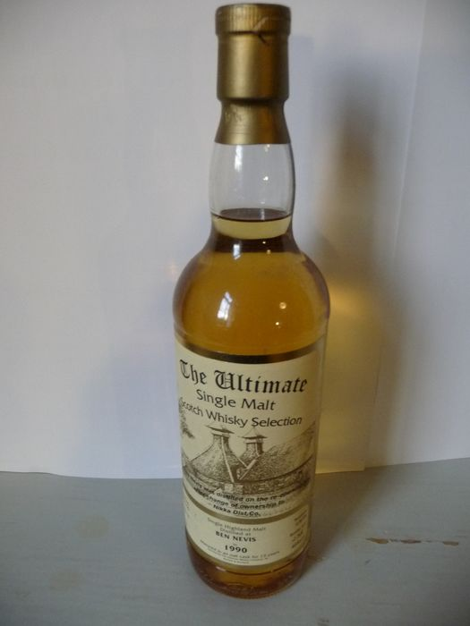 Ben Nevis 1990 13 years old Distilled on re-opening day after change of ownership to Nikka - The Ultimate - b. 2004 - 70cl
