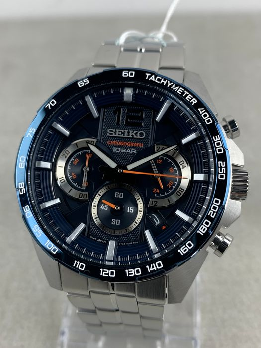 Seiko - Sports Chronograph  - SSB345P1 - Heren - 2011-heden