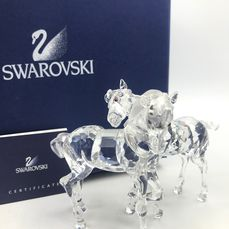 Swarovski Playing Foals - Complete - No Reseve - Cristal