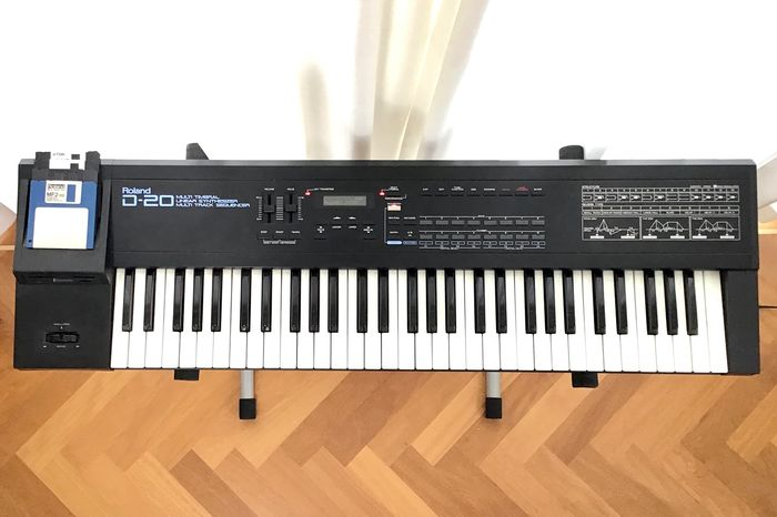 Roland - D-20 - Multi Timbral Linear Synthesizer Multi Track Sequencer