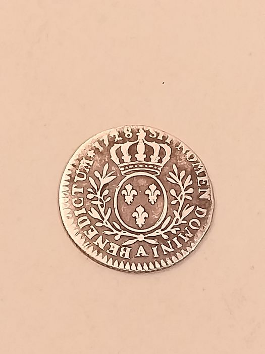 France - Louis XV - 1/10 Ecu 1728-A (Paris) - Silver