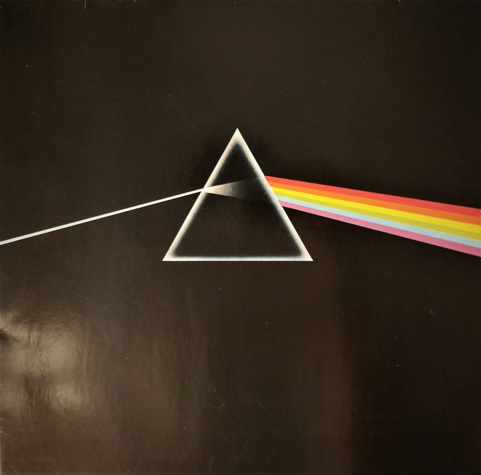Pink Floyd - The Dark Side Of The Moon [Empty Prism Labels] Germany - Álbum LP - 1976/1976