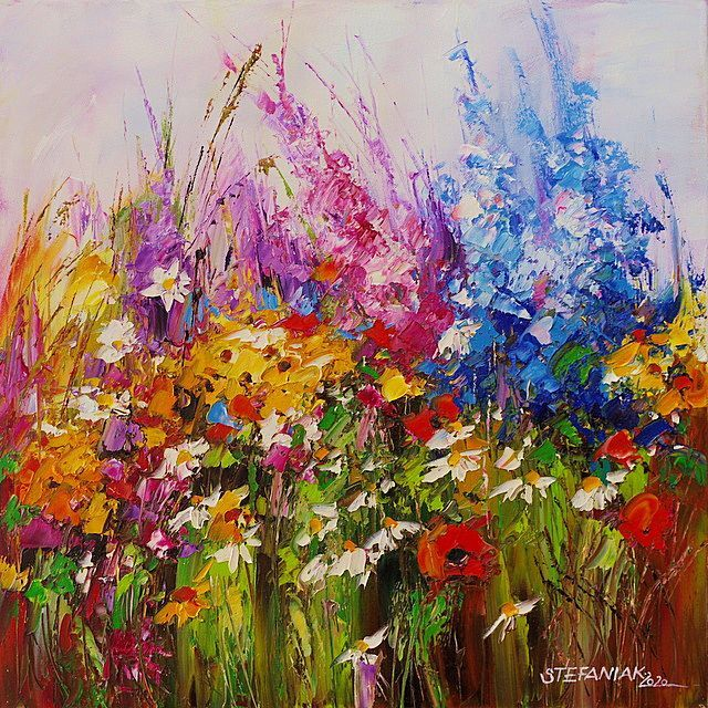 Małgorzata Stefaniak - Colorful Flowers