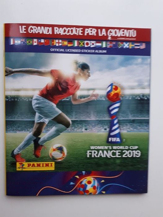 Panini - Women's World Cup France 2019 - Komplettes Album