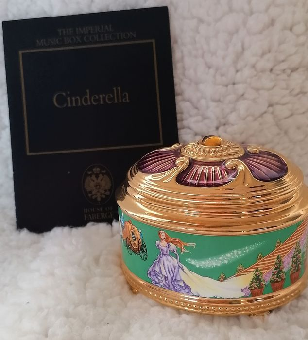 """Fabergé - """"The Imperial Music Box Collection"""" -Das ist - Cinderella-Limited Edition, sehr guter Zustand, COA"""