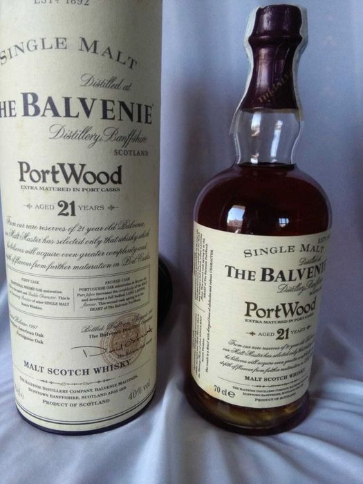 Balvenie 21 years old Port Wood - Original bottling - b. 1997 - 70cl