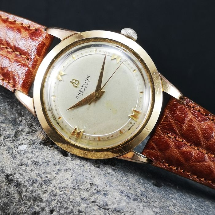 """Breitling - Geneve Vintage Manual Wind (Cal. 220) - """"NO RESERVE PRICE"""" - 2907-31 - Hombre - 1950-1959"""