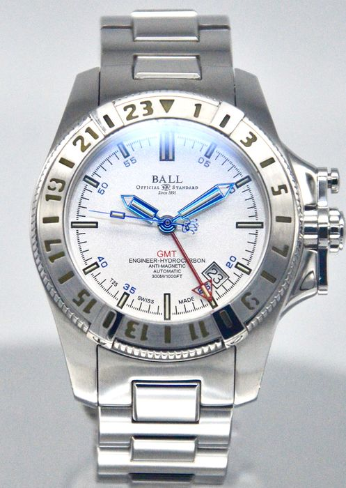 "BALL - Engineer Hydrocarbon ""Mad Cow"" GMT - DG1016A - Heren - 2000-2010"