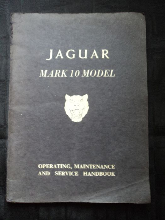 Brochures / Catalogues - Mark 10 - Jaguar