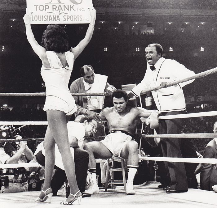Ronald LeBoeuf/ Times Picayune - Muhammad Ali vs. Leon Spinks - New Orleans 1978