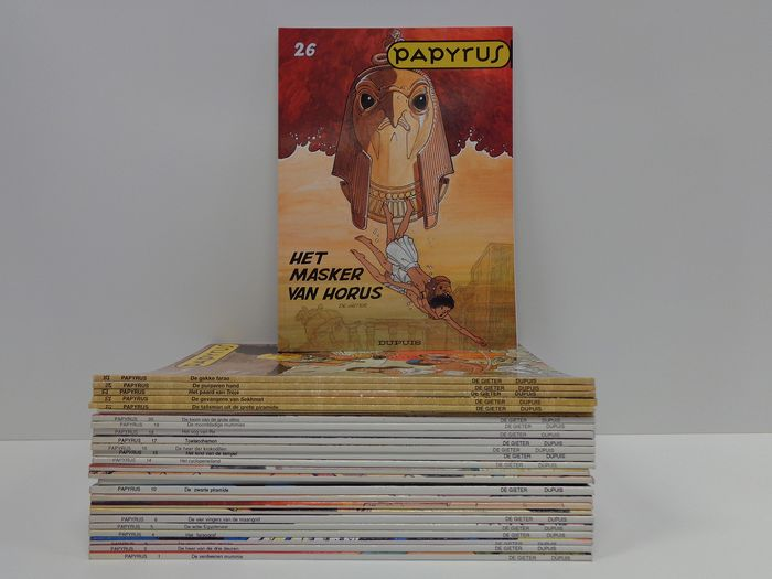 Papyrus 1 t/m 26 - Opeenvolgende reeks - Softcover - Different editions - (1986/2003)