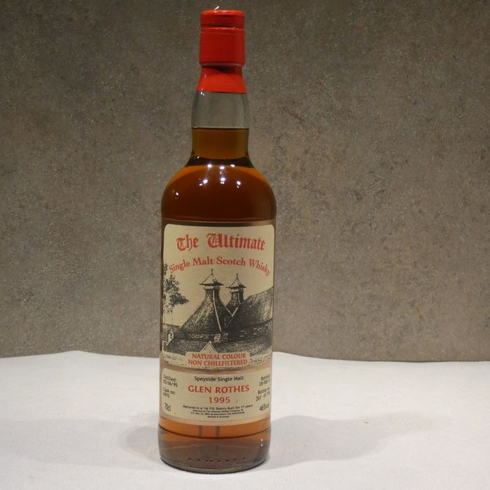 Glen Rothes 1995 17 years old Sherry Butt - The Ultimate - b. 2012 - 70cl