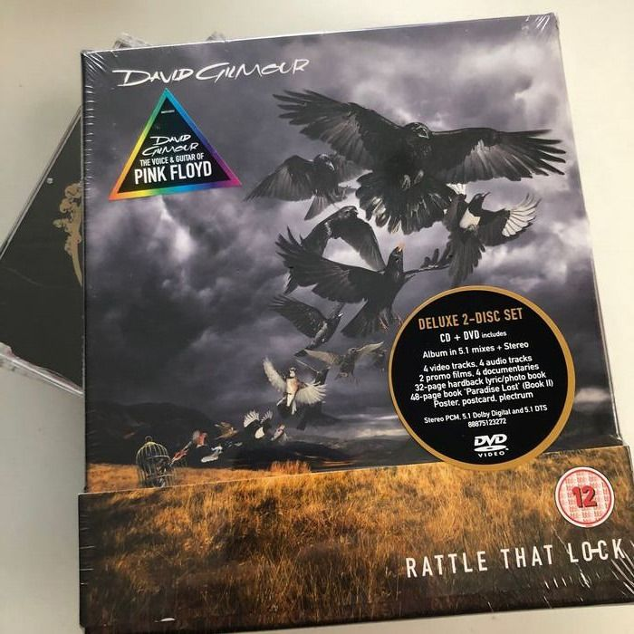 David Gilmour, David Gilmour & Related - Lot of 6 CD's / DVD's incl. Rattle That Lock Deluxe Box Set - Différents titres - CD's, DVD, DVD Limited Box Set - 2006/2015
