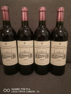 2009 La Chapelle de la Mission Haut Brion, 2nd wine Ch. la Mission Haut Brion - Pessac-Léognan - 4 Flaskor (0,75L)
